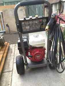 brand new B.E gas power washer with honda GX270 engine