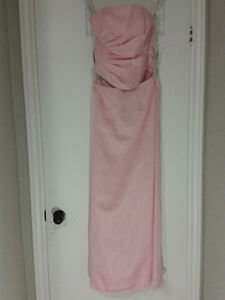 BEAUTIFUL PINK/TEA ROSE ALFRED ANGELO BRIDESMAID DRESS