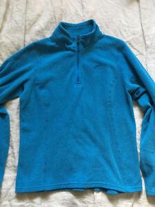 New Women's North Face Glacier 1/4 Zip Quick Dry Fleece Sweater