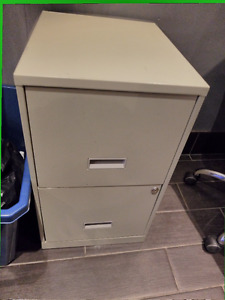 Two Drawer Filing Cabinet $20