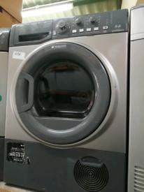 8 kg load hotpoint condenser dryer at Recyk Appliances