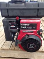 Used Briggs and Stratton 5HP Horizontal INDUSTRIAL ENGINE