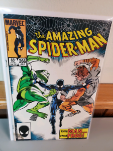 The amazing spiderman 266 high grade