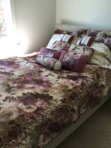 Purple Duvet Cover, pillows and more