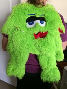 Adorable Soft Green monster backpack