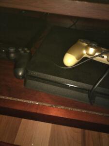 PlayStation 4 500go, 2 manette, 3 jeux