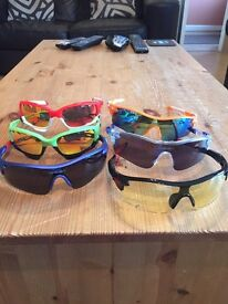 Cycling/running glasses