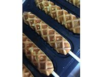 Riches Entertainments | Waffle Machine | Waffle On A Stick