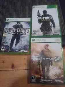 3 call of duty games for $25