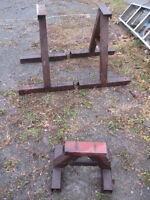 REDUCED!  Set of Boat stands for cruiser or runabout