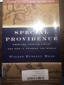 Special Providence: American Foreign Policy and How It Changed..