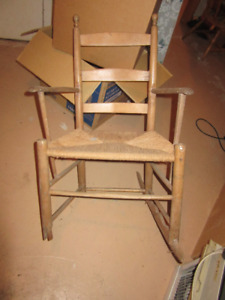 Antique Acadian Rocking Chair – Great Porch Decor For Only $15