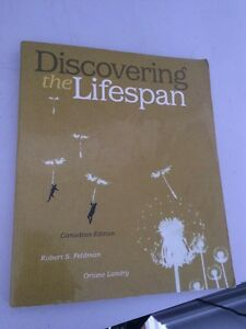Discovering the lifespan textbook !!