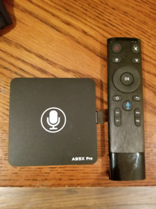 Android Box $30 - A95X Pro Android TV Box with Voice Control