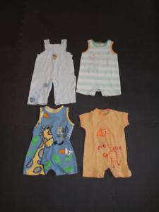 Vêtements pour garçon (printemps-été) 0-3 mois