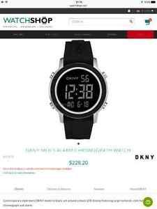 DKNY Men's Alarm Chronograph Watch Oakville / Halton Region Toronto (GTA) image 1