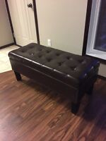 Bench /ottoman with storage for $50