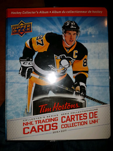 Hockey card tim horton  jersey relic  to trade for lego