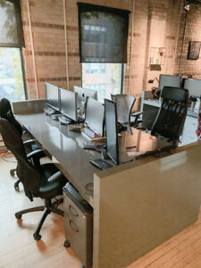 Multi-person workstations/desks