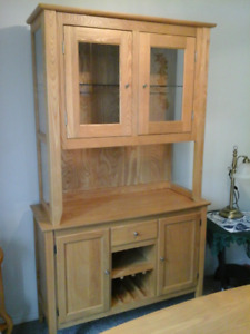 Hutch & Dining Table