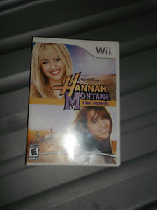 Hannah Montana: The Movie Wii game