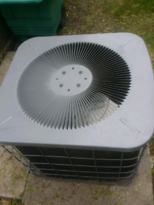 100$ working ac was too small for house reno going to scrap yard