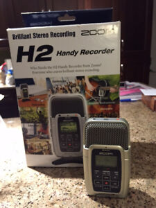 Zoom H2 Stereo Portable Digital Recorder