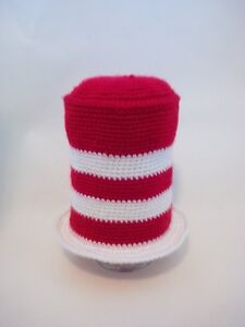 Red and White Cat in the Hat with Bow Newborn Photo Prop Peterborough Peterborough Area image 1