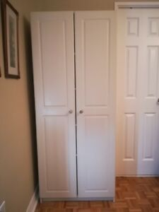 Large & Roomy 5 Shelf, 2 Door Storage/Pantry  Cupboard