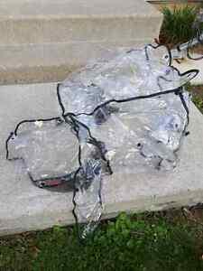 Bily Weather Shield for single stroller.