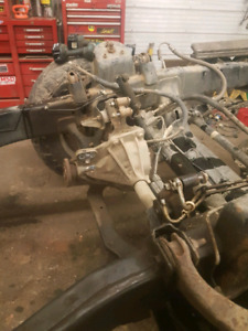 2007 5.7 hemi transmission and front diff