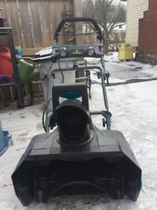 "13 Amp 20""  Snowblower"