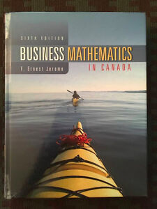 Business Mathematics in Canada, by F. Ernest Jerome, 6th Edition