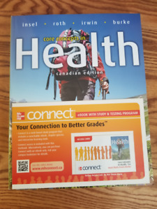 Core Concepts in Health + CONNECT with eText