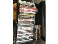 Dvd films and PlayStation games for sale