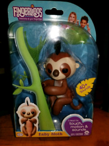 Baby Sloth Fingerling! Authentic