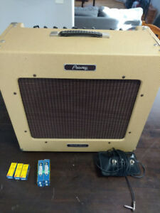 peavey delta blues tube amp + footswitch