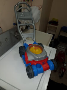 Fisher-Price Bubbler Mower Toy