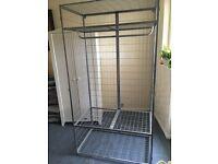 Ikea Metal Wardrobe