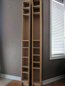 Ikea DVD /CD / speakers tower 2 for $40 with movable shelves