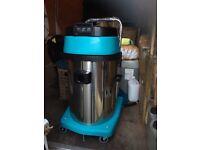Car wash vacuum cleaner wet/dry