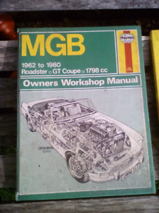 Selection of MG books