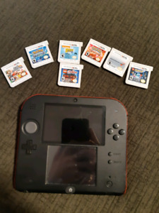 Nintendo 2ds with games and accessories