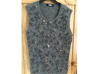 Size 8 Whistles beaded top.