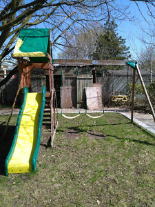 Outdoor Swing and playset