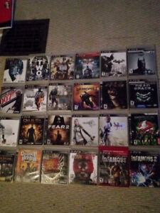 Lot of 64 PS3 games for sale