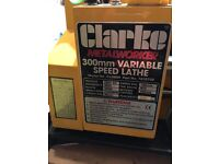 CLARKE CL300M VARIABLE SPEED LATHE