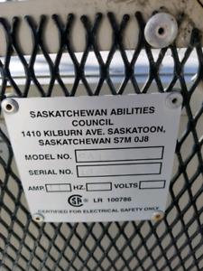 Sask Abilities Outdoor Chairlift