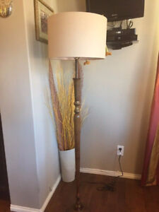 A Classic Floor lamp in perfect working condition. Height is 68""