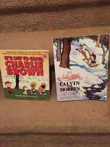 Charlie Brown & Calvin & Hobbes - Giant Editions Cambridge Kitchener Area image 1